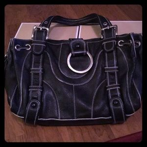 isabella fiore leather handbag